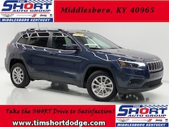 New 2019 Jeep Cherokee LATITUDE FWD Sport Utility 1C4PJLCB2KD377595 for Sale in Middlesboro, KY at Tim Short Dodge Chrysler Jeep Ram