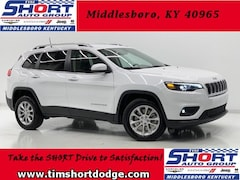 New 2019 Jeep Cherokee LATITUDE FWD Sport Utility 1C4PJLCB3KD470237 for Sale in Middlesboro, KY at Tim Short Dodge Chrysler Jeep Ram