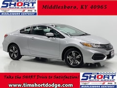 Used 2015 Honda Civic EX Coupe for Sale in Middlesboro, KY at Tim Short Dodge Chrysler Jeep Ram