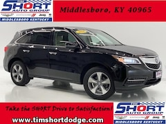 Used 2016 Acura MDX MDX SH-AWD SUV for Sale in Middlesboro, KY at Tim Short Dodge Chrysler Jeep Ram