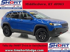 New 2019 Jeep Cherokee TRAILHAWK 4X4 Sport Utility 1C4PJMBX5KD471845 for Sale in Middlesboro, KY at Tim Short Dodge Chrysler Jeep Ram