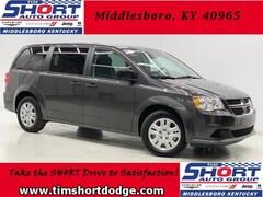 New 2019 Dodge Grand Caravan SE Passenger Van 2C4RDGBG4KR602892 for Sale in Middlesboro, KY at Tim Short Dodge Chrysler Jeep Ram