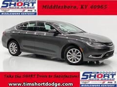Used 2015 Chrysler 200 C Sedan 1C3CCCCB1FN584704 for Sale in Middlesboro, KY at Tim Short Dodge Chrysler Jeep Ram