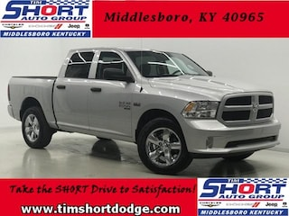 New 2019 Ram 1500 CLASSIC EXPRESS CREW CAB 4X4 5'7 BOX Crew Cab 1C6RR7KT1KS508652 for sale in Middlesboro, KY at Tim Short Dodge Chrysler Jeep Ram