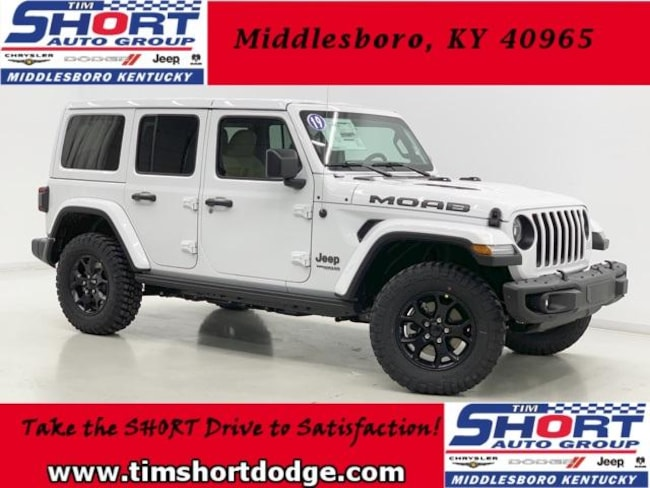 New 2019 Jeep Wrangler UNLIMITED MOAB 4X4 For Sale in ...