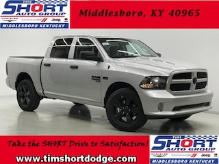 New 2019 Ram 1500 CLASSIC EXPRESS CREW CAB 4X4 5'7 BOX Crew Cab 1C6RR7KT4KS508855 for sale in Middlesboro, KY at Tim Short Dodge Chrysler Jeep Ram