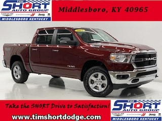 New 2019 Ram 1500 BIG HORN / LONE STAR CREW CAB 4X4 5'7 BOX Crew Cab 1C6SRFFT2KN878268 for sale in Middlesboro, KY at Tim Short Dodge Chrysler Jeep Ram
