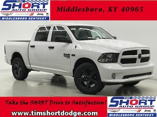 New 2019 Ram 1500 CLASSIC EXPRESS CREW CAB 4X4 5'7 BOX Crew Cab 1C6RR7KT6KS508856 for sale in Middlesboro, KY at Tim Short Dodge Chrysler Jeep Ram