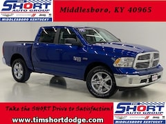 New 2019 Ram 1500 CLASSIC BIG HORN CREW CAB 4X4 5'7 BOX Crew Cab 1C6RR7LT6KS560535 for Sale in Middlesboro, KY at Tim Short Dodge Chrysler Jeep Ram