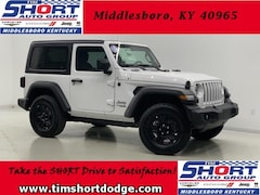 New 2018 Jeep Wrangler SPORT 4X4 Sport Utility 1C4GJXAN3JW180393 for Sale in Middlesboro, KY at Tim Short Dodge Chrysler Jeep Ram