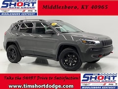 New 2019 Jeep Cherokee TRAILHAWK ELITE 4X4 Sport Utility 1C4PJMBX2KD471849 for Sale in Middlesboro, KY at Tim Short Dodge Chrysler Jeep Ram