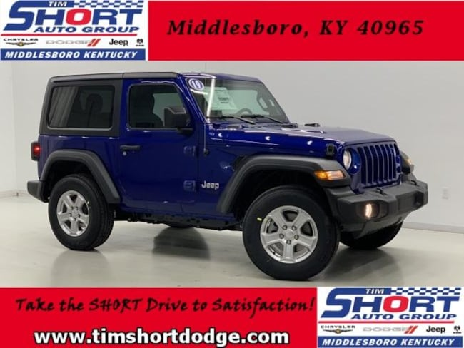 New 2019 Jeep Wrangler SPORT S 4X4 Sport Utility for Sale in Middlesboro, KY at Tim Short Dodge Chrysler Jeep Ram