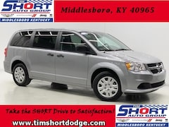 New 2019 Dodge Grand Caravan SE Passenger Van 2C4RDGBG5KR602884 for Sale in Middlesboro, KY at Tim Short Dodge Chrysler Jeep Ram