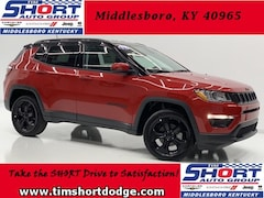 New 2019 Jeep Compass ALTITUDE 4X4 Sport Utility 3C4NJDBB7KT682955 for Sale in Middlesboro, KY at Tim Short Dodge Chrysler Jeep Ram