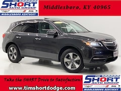 Used 2016 Acura MDX 3.5L SUV for Sale in Middlesboro, KY at Tim Short Dodge Chrysler Jeep Ram