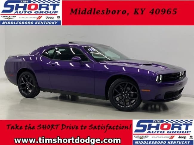 New 2019 Dodge Challenger SXT Coupe for Sale in Middlesboro, KY at Tim Short Dodge Chrysler Jeep Ram