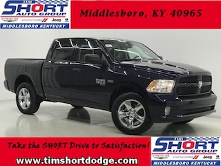 New 2019 Ram 1500 CLASSIC EXPRESS CREW CAB 4X4 5'7 BOX Crew Cab 1C6RR7KT3KS508653 for sale in Middlesboro, KY at Tim Short Dodge Chrysler Jeep Ram