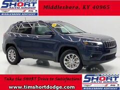 New 2019 Jeep Cherokee LATITUDE 4X4 Sport Utility 1C4PJMCB9KD469406 for Sale in Middlesboro, KY at Tim Short Dodge Chrysler Jeep Ram