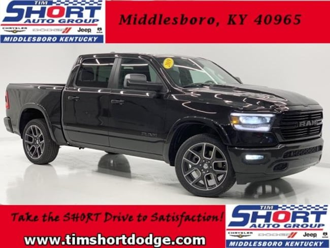 New 2019 Ram 1500 LARAMIE CREW CAB 4X4 5'7 BOX Crew Cab for Sale in Middlesboro, KY at Tim Short Dodge Chrysler Jeep Ram