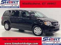 New 2019 Dodge Grand Caravan SE Passenger Van 2C4RDGBG7KR602885 for Sale in Middlesboro, KY at Tim Short Dodge Chrysler Jeep Ram