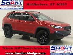 New 2019 Jeep Cherokee TRAILHAWK 4X4 Sport Utility 1C4PJMBX9KD260907 for Sale in Middlesboro, KY at Tim Short Dodge Chrysler Jeep Ram