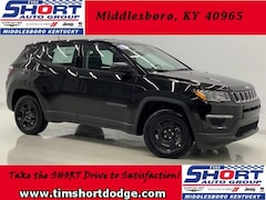 New 2019 Jeep Compass SPORT FWD Sport Utility 3C4NJCAB1KT649669 for Sale in Middlesboro, KY at Tim Short Dodge Chrysler Jeep Ram