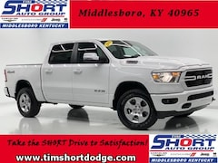 New 2019 Ram 1500 BIG HORN / LONE STAR CREW CAB 4X4 5'7 BOX Crew Cab D1126 for sale in Middlesboro, KY at Tim Short Dodge Chrysler Jeep Ram