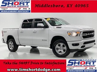 New 2019 Ram 1500 BIG HORN / LONE STAR CREW CAB 4X4 5'7 BOX Crew Cab 1C6SRFFT4KN755586 for sale in Middlesboro, KY at Tim Short Dodge Chrysler Jeep Ram