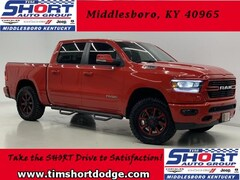 New 2019 Ram 1500 BIG HORN / LONE STAR CREW CAB 4X4 5'7 BOX Crew Cab 1C6SRFFT3KN563219 for Sale in Middlesboro, KY at Tim Short Dodge Chrysler Jeep Ram