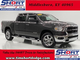 New 2019 Ram 1500 BIG HORN / LONE STAR CREW CAB 4X4 5'7 BOX Crew Cab 1C6SRFFT0KN665058 for sale in Middlesboro, KY at Tim Short Dodge Chrysler Jeep Ram
