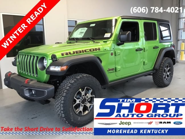 New 2019 Jeep Wrangler UNLIMITED RUBICON 4X4 Sport Utility For Sale/Lease Morehead, KY