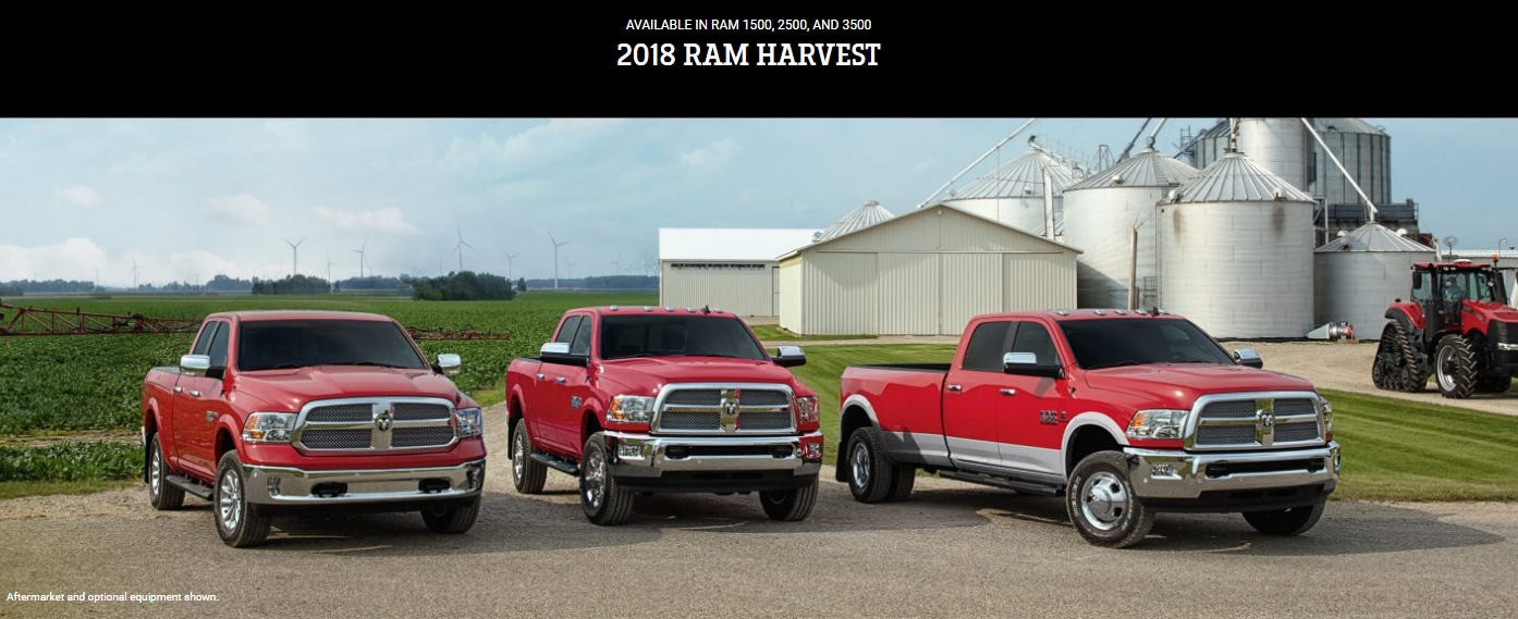 Dodge Dealership Las Vegas >> 2018 Ram Harvest Edition Trucks in 1500, 2500, 3500 | Tim ...