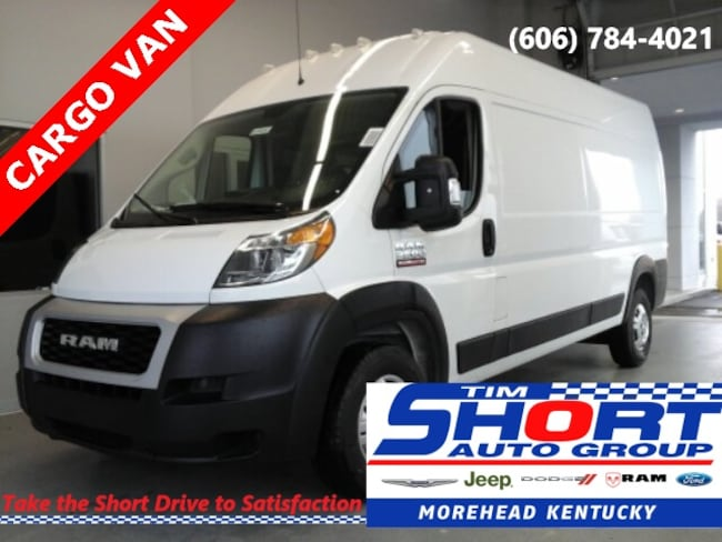 New 2019 Ram ProMaster 2500 CARGO VAN HIGH ROOF 159 WB Cargo Van For Sale/Lease Morehead, KY