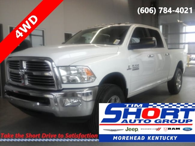 New 2018 Ram 3500 BIG HORN CREW CAB 4X4 6'4 BOX Crew Cab For Sale/Lease Morehead, KY