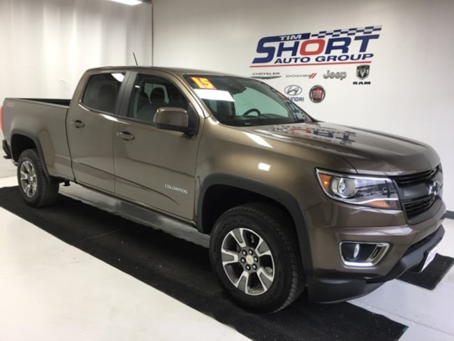 Used 2015 Chevrolet Colorado Z71 Truck Crew Cab For Sale Pikeville, KY