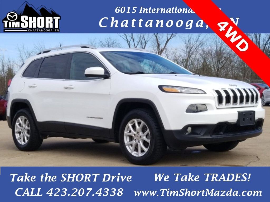 Pre-Owned Featured 2016 Jeep Cherokee Latitude 4x4 SUV for sale near you in Chattanooga, TN