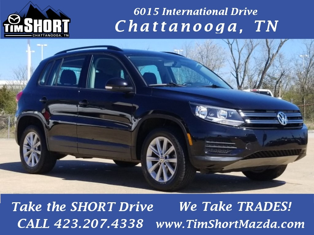 Pre-Owned Featured 2017 Volkswagen Tiguan 2.0T S SUV for sale near you in Chattanooga, TN