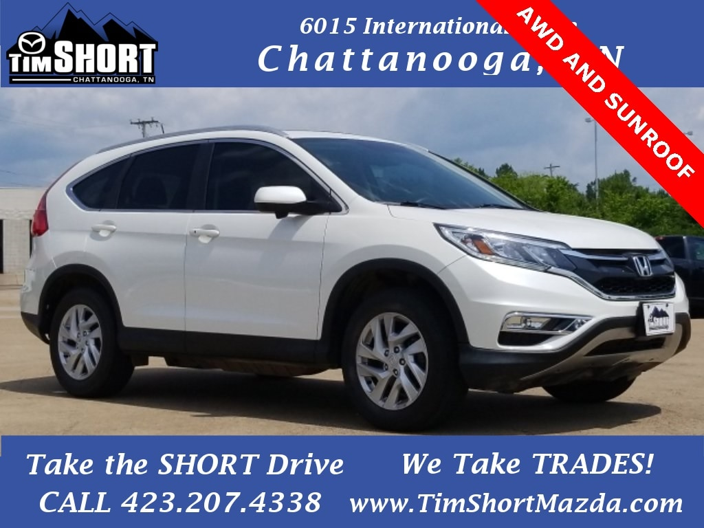 Pre-Owned Featured 2015 Honda CR-V EX-L SUV for sale near you in Chattanooga, TN