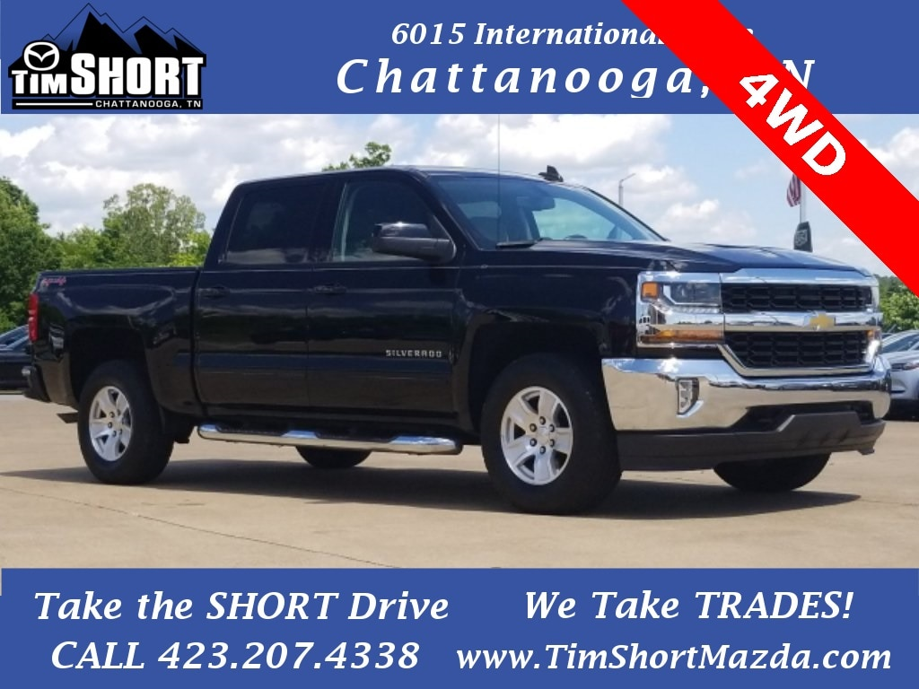 Pre-Owned Featured 2017 Chevrolet Silverado 1500 LT w/1LT Truck Crew Cab for sale near you in Chattanooga, TN