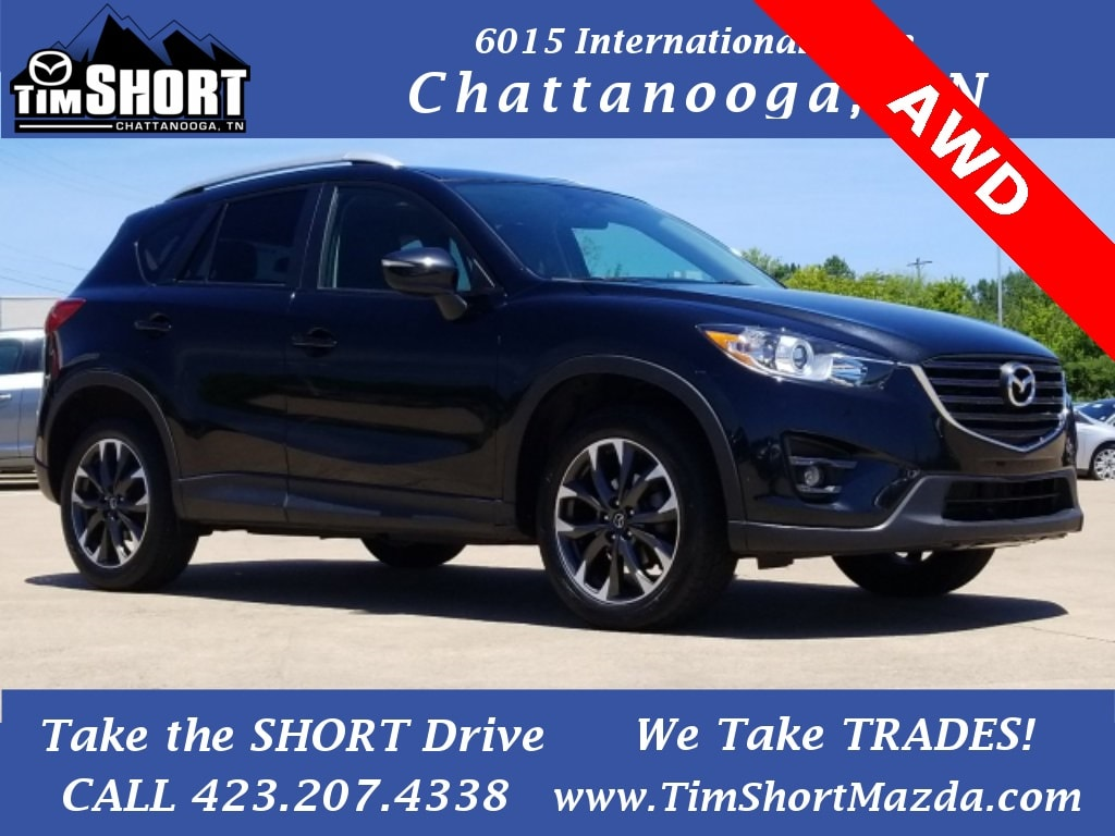 Pre-Owned Featured 2016 Mazda Mazda CX-5 Grand Touring (2016.5) SUV for sale near you in Chattanooga, TN