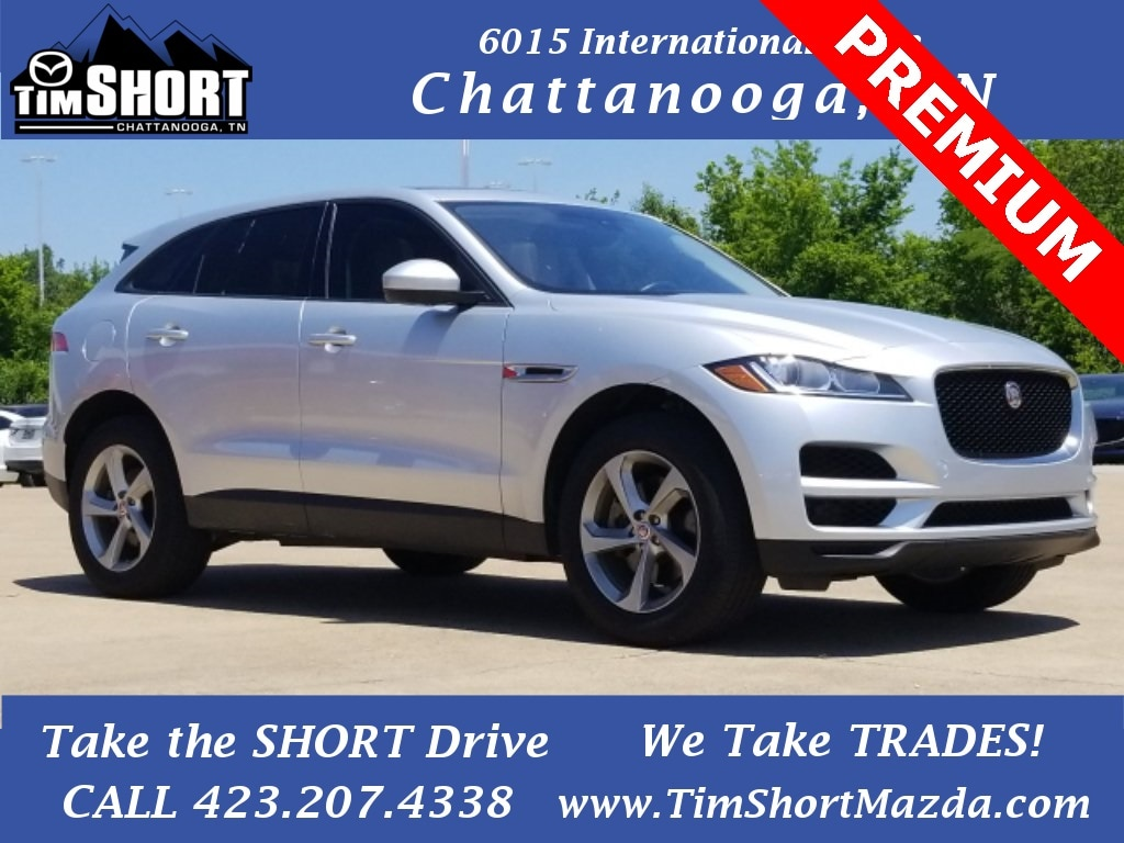 Pre-Owned Featured 2018 Jaguar F-PACE 30t Premium SUV for sale near you in Chattanooga, TN