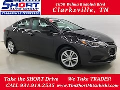 2017 Chevrolet Cruze LT Sedan for Sale in Clarksville, TN at Tim Short Mitsubishi