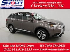 New 2019 Mitsubishi Outlander SE CUV for Sale in Clarksville, TN at Tim Short Mitsubishi