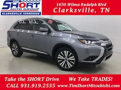New 2019 Mitsubishi Outlander GT CUV for Sale in Clarksville, TN at Tim Short Mitsubishi