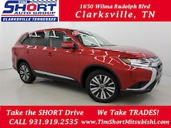 New 2019 Mitsubishi Outlander SE CUV for Sale in Clarksville, TN at Tim Short Mitsubishi