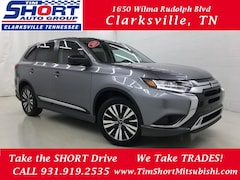New 2019 Mitsubishi Outlander ES CUV for Sale in Clarksville, TN at Tim Short Mitsubishi