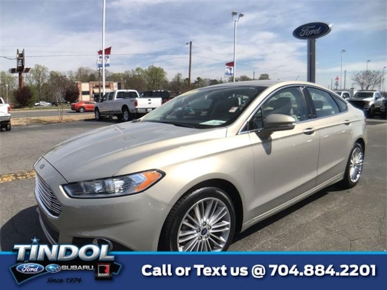 used 2015 Ford Fusion SE Sedan 90535A in Gastonia, NC
