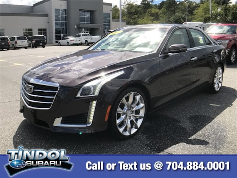 used 2015 CADILLAC CTS 2.0L Turbo Premium Sedan S84195B in Gastonia, NC