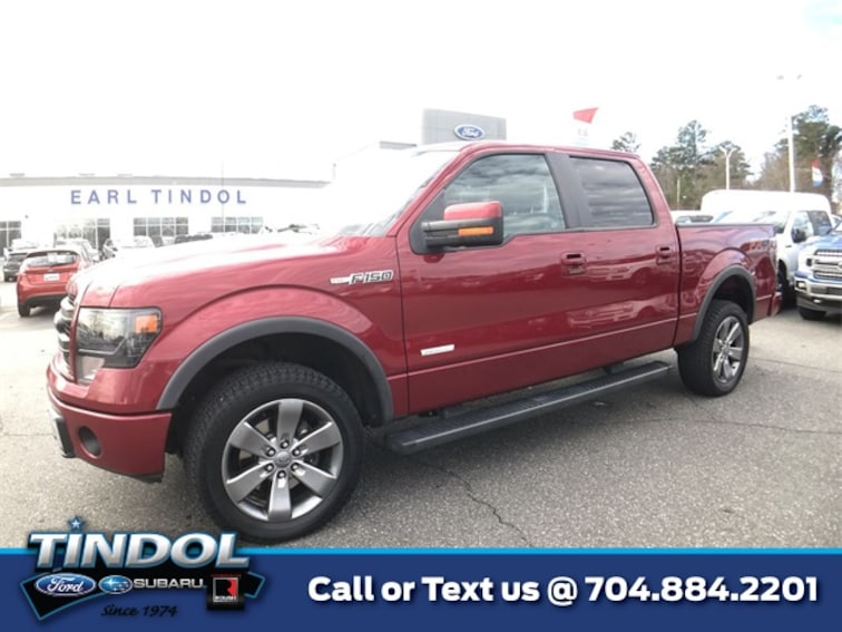used 2014 Ford F-150 FX4 Truck SuperCrew Cab 81531A in Gastonia, NC