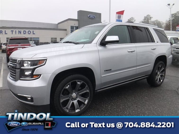used 2015 Chevrolet Tahoe LTZ SUV 90233A in Gastonia, NC